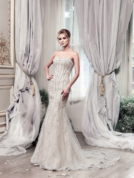 Picture of Evangelista Wedding Dress - Ian Stuart Lady Luxe 2015 Bridal Collection