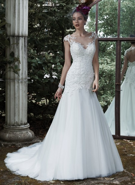 Picture of Evianna Wedding Dress - Maggie Sottero Fall 2015 Bridal Collection
