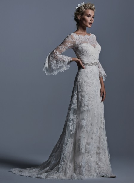 Picture of Fatima Wedding Dress - Sottero and Midgley Fall 2015 Bridal Collection