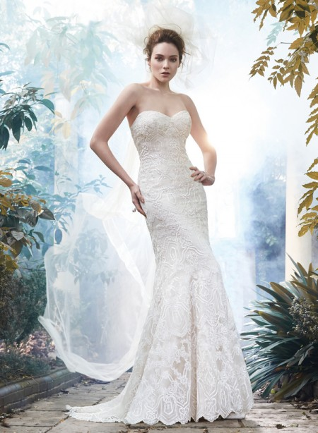 Picture of Fredricka Wedding Dress - Maggie Sottero Fall 2015 Bridal Collection