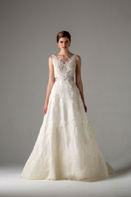 Picture of Giverny Wedding Dress - Anne Barge Fall 2015 Bridal Collection