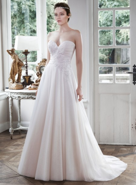 Picture of Hattie Wedding Dress - Maggie Sottero Fall 2015 Bridal Collection