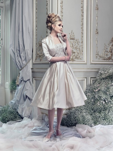 Picture of I Love Lucy Wedding Dress - Ian Stuart Lady Luxe 2015 Bridal Collection