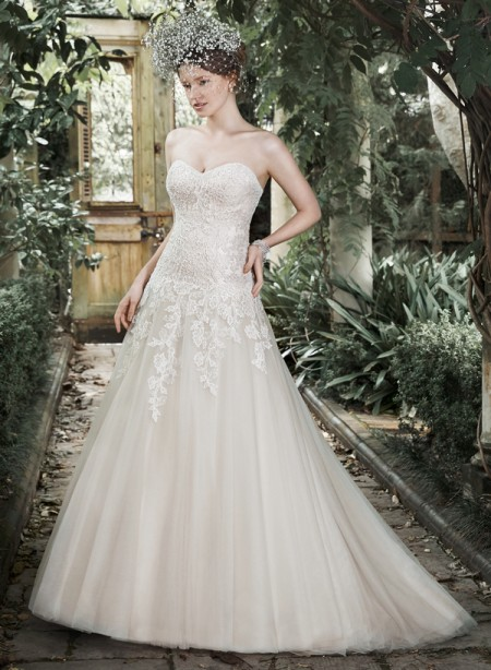 Picture of Josephine Wedding Dress - Maggie Sottero Fall 2015 Bridal Collection