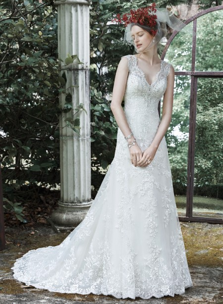 Picture of Katiya Wedding Dress - Maggie Sottero Fall 2015 Bridal Collection