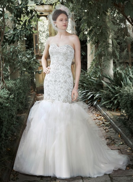 Picture of Kennedy Wedding Dress - Maggie Sottero Fall 2015 Bridal Collection