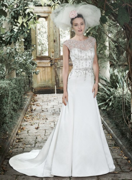 Picture of Leandra Marie Wedding Dress - Maggie Sottero Fall 2015 Bridal Collection