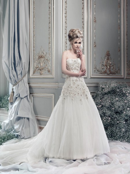 Picture of Lipizzaner Wedding Dress - Ian Stuart Lady Luxe 2015 Bridal Collection