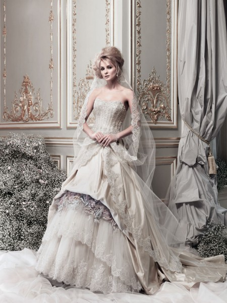 Picture of Madame de Luxe Wedding Dress - Ian Stuart Lady Luxe 2015 Bridal Collection