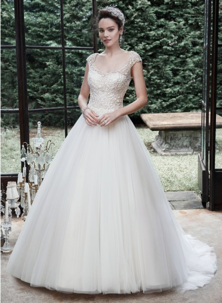 Picture of Maloree Wedding Dress - Maggie Sottero Fall 2015 Bridal Collection