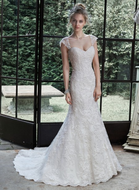 Picture of Marigold Wedding Dress - Maggie Sottero Fall 2015 Bridal Collection