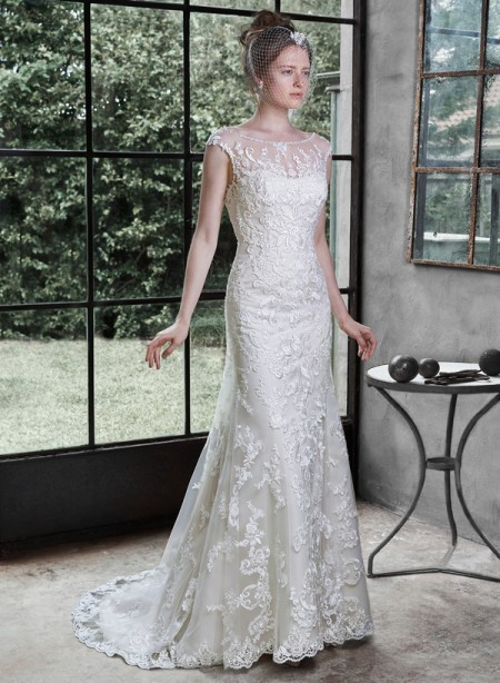 Picture of Nanette Wedding Dress - Maggie Sottero Fall 2015 Bridal Collection
