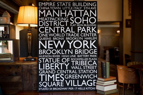 New York Canvas Print - RedBlueYou