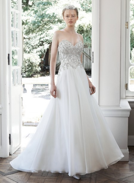 Picture of Olympia Wedding Dress - Maggie Sottero Fall 2015 Bridal Collection