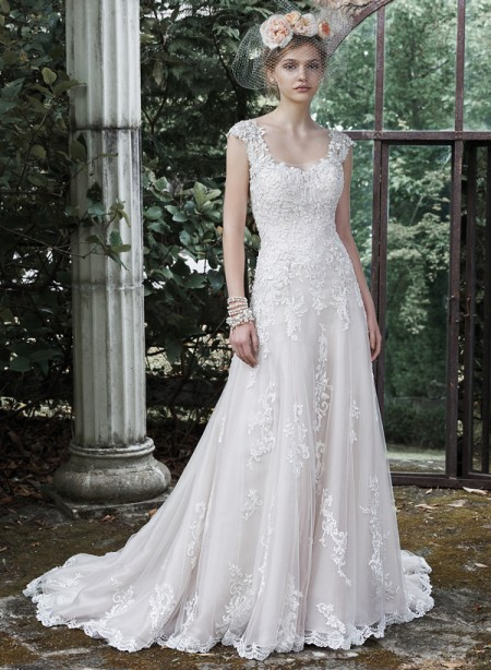 Picture of Ravenna Wedding Dress - Maggie Sottero Fall 2015 Bridal Collection