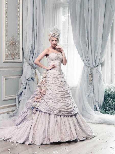Picture of Rosa Montana Wedding Dress - Ian Stuart Lady Luxe 2015 Bridal Collection