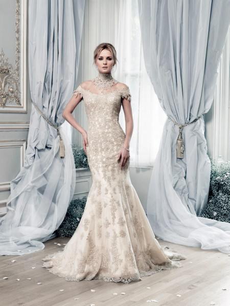 Picture of Salamanca Wedding Dress - Ian Stuart Lady Luxe 2015 Bridal Collection