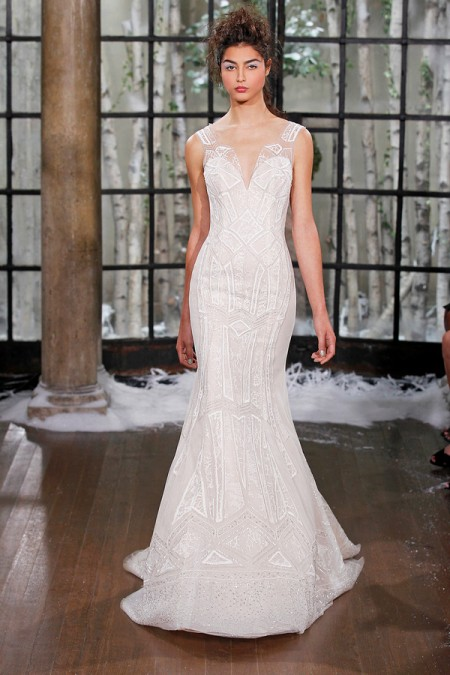 Picture of Seville Wedding Dress - Ines Di Santo Fall/Winter 2015 Bridal Collection