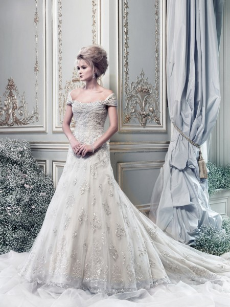 Picture of Sonata Wedding Dress - Ian Stuart Lady Luxe 2015 Bridal Collection