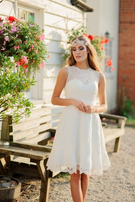 Picture of Summer Rose Wedding Dress - Kitty and Dulcie Village Affair 2015 Bridal Collection