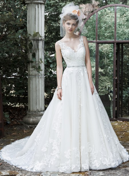 Picture of Sybil Wedding Dress - Maggie Sottero Fall 2015 Bridal Collection