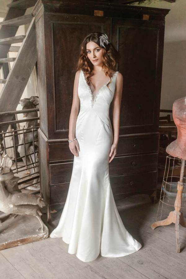 Picture of Taylor Wedding Dress - Karen George for Benjamin Roberts 2016 Bridal Collection