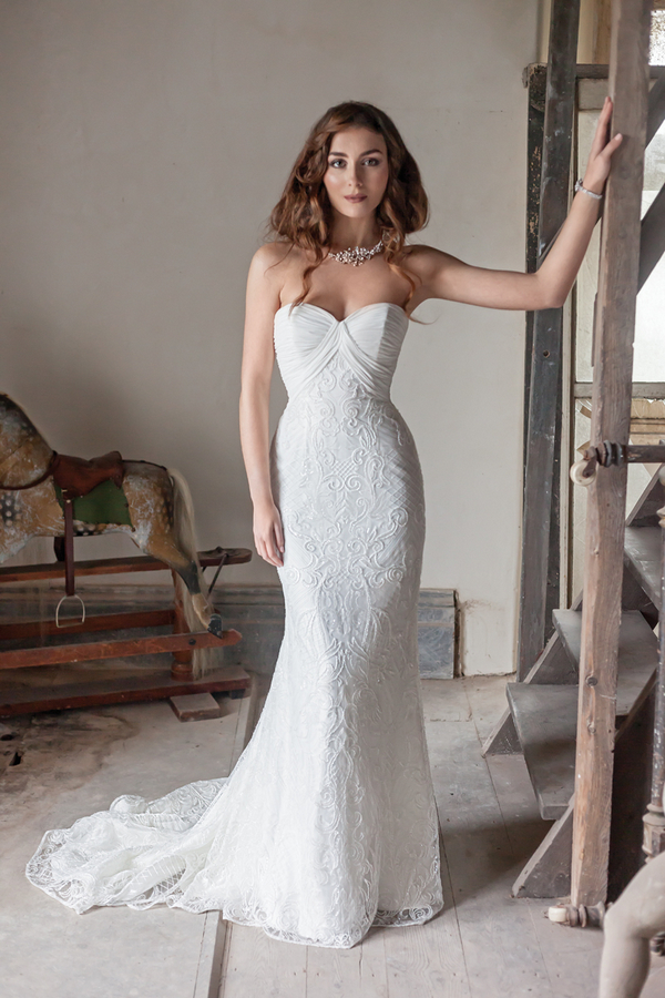 Picture of Tianna Wedding Dress - Karen George for Benjamin Roberts 2016 Bridal Collection