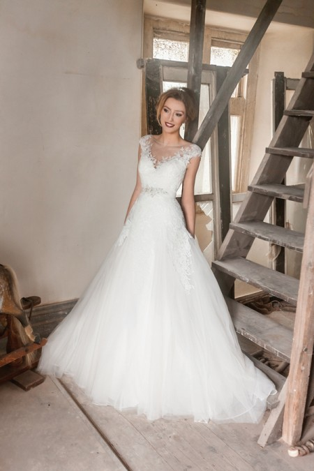 Picture of Tiffany Wedding Dress - Karen George for Benjamin Roberts 2016 Bridal Collection