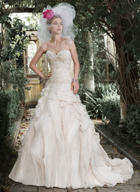 Picture of Tiffany Wedding Dress - Maggie Sottero Fall 2015 Bridal Collection