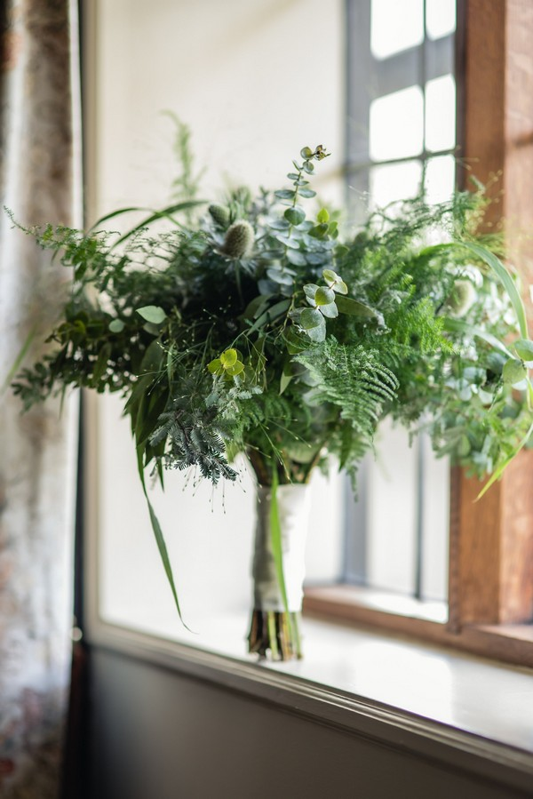 Wedding Foliage Bouquet