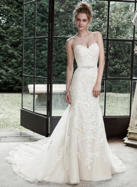Picture of Winstyn Wedding Dress - Maggie Sottero Fall 2015 Bridal Collection