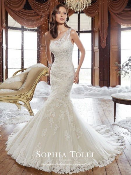Picture of Y21501 Rory Wedding Dress - Sophia Tolli Fall 2015 Bridal Collection
