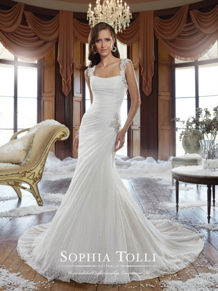 Picture of Y21504 Ricki Wedding Dress - Sophia Tolli Fall 2015 Bridal Collection