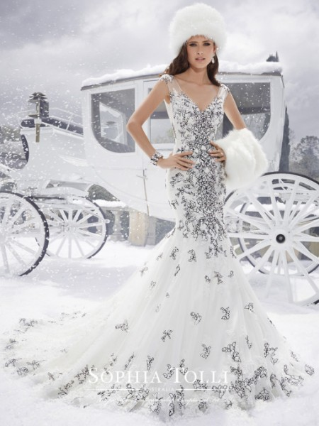 Picture of Y21507 Alex Wedding Dress - Sophia Tolli Fall 2015 Bridal Collection