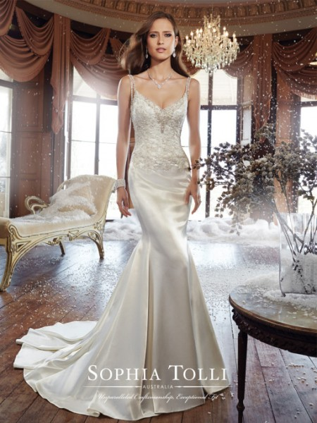 Picture of Y21510 Bobbi Wedding Dress - Sophia Tolli Fall 2015 Bridal Collection