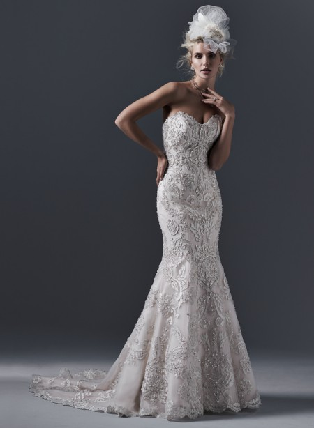 Picture of Zinnia Wedding Dress - Sottero and Midgley Fall 2015 Bridal Collection