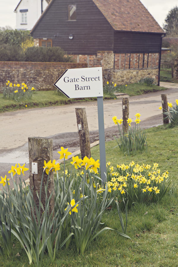 Gate Street Barn sign