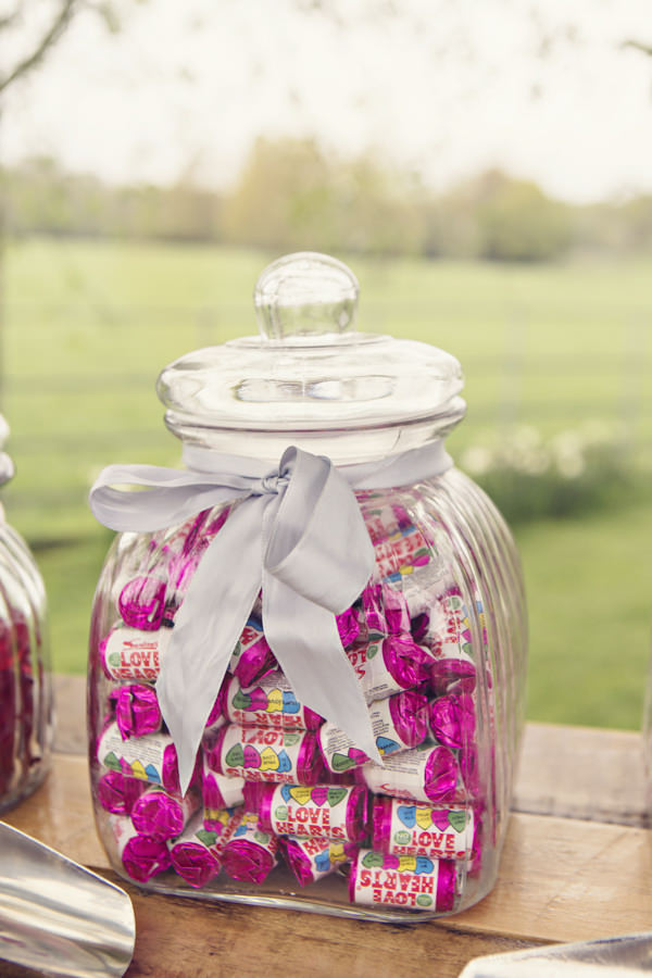 Jar of Love Heart sweets