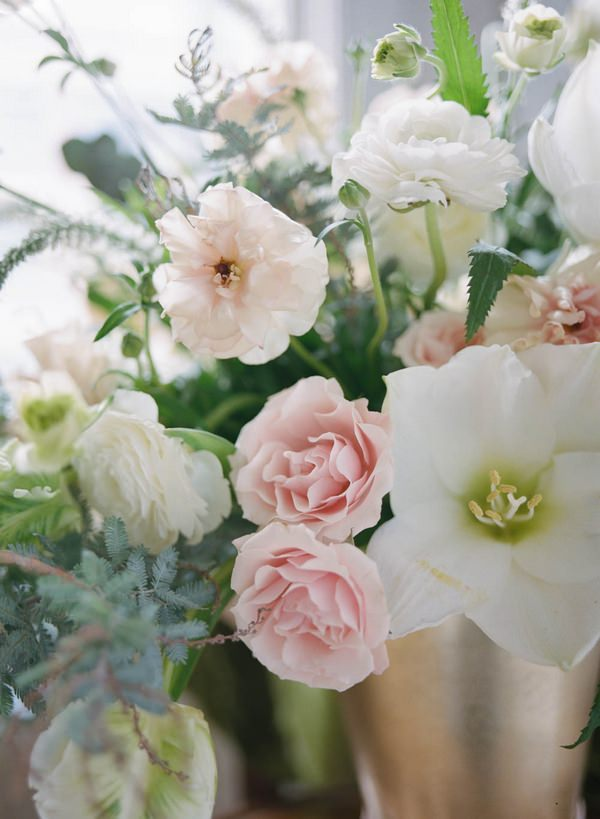 Flowers of bridal bouquet