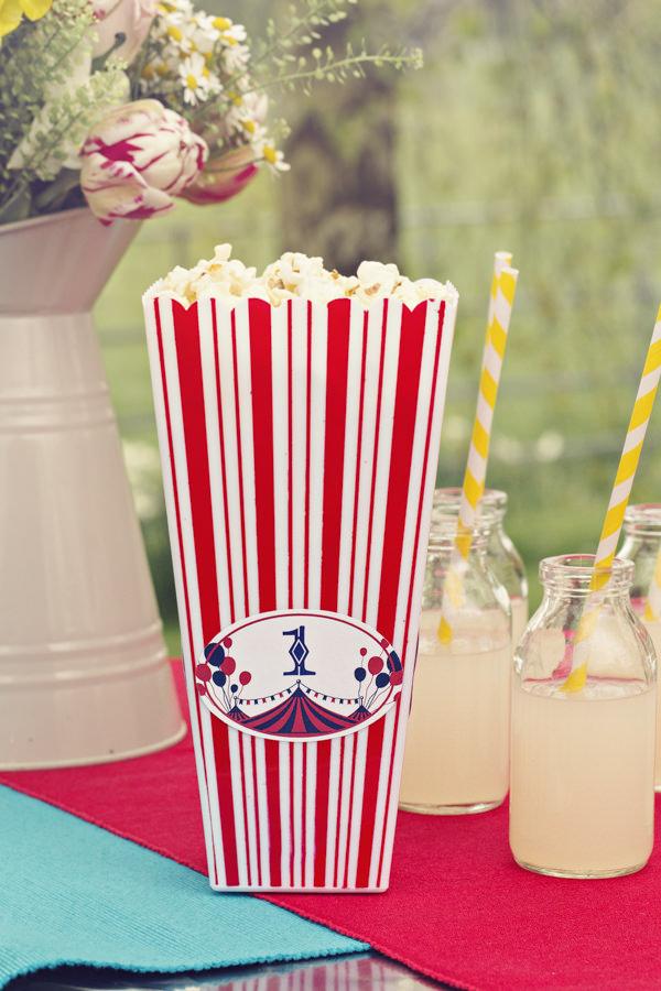 Vintage popcorn