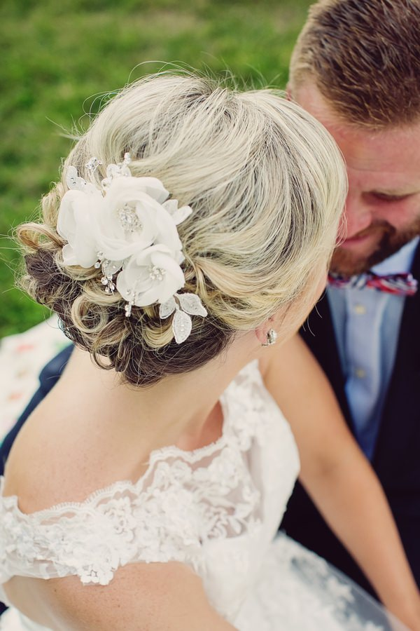 Bride's hairpiece