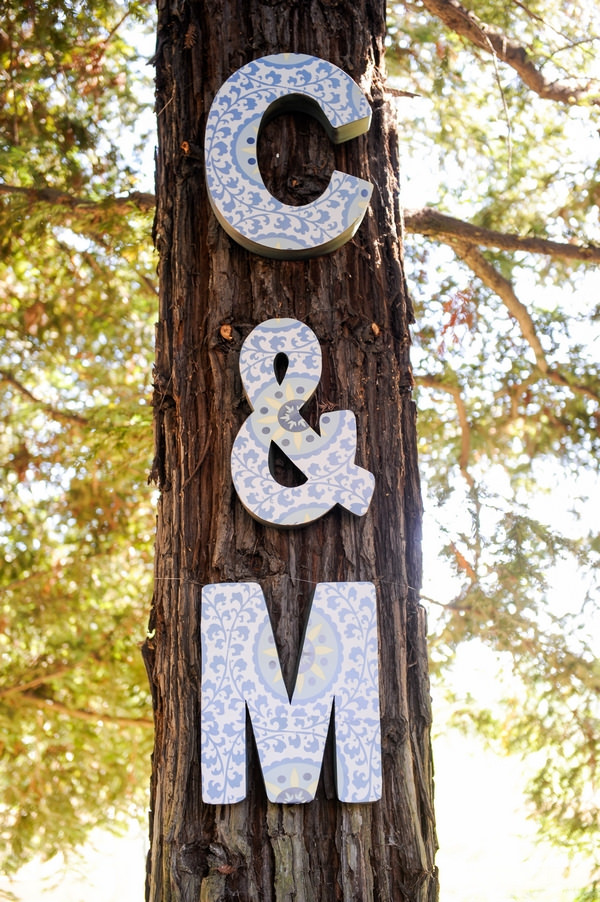 C and M letters on tree