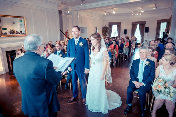 Wedding ceremony at Winchester House in Putney