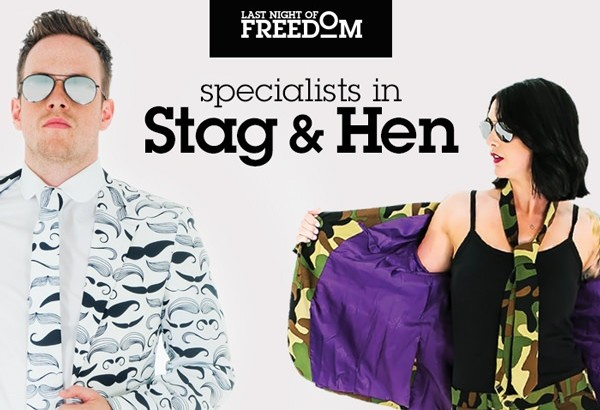 Last Night of Freedom - Specialists in Stag and Hen