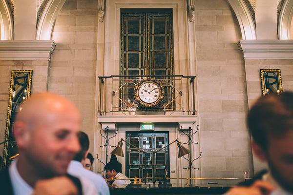 Clock in The Wolseley