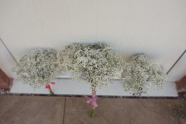 Gypsophila wedding bouquets