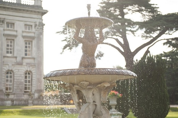 Fountain at Moor Park Mansion