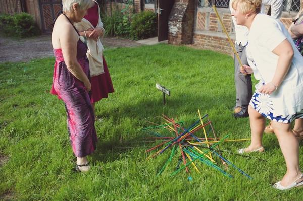 Village fete pick up sticks game