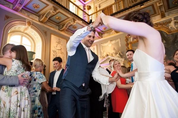 Wedding dance at Moor Park Mansion