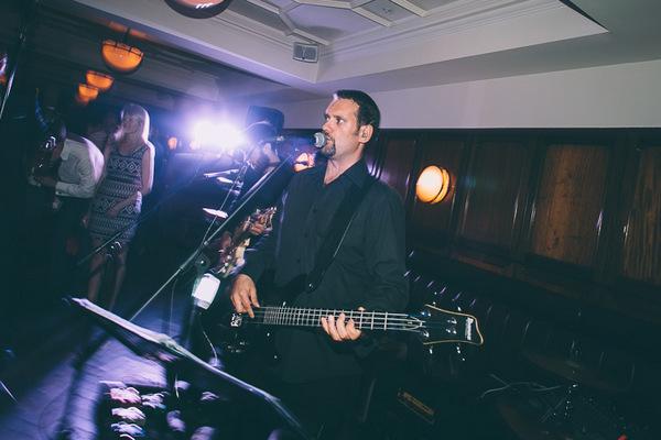 Bass player of wedding band